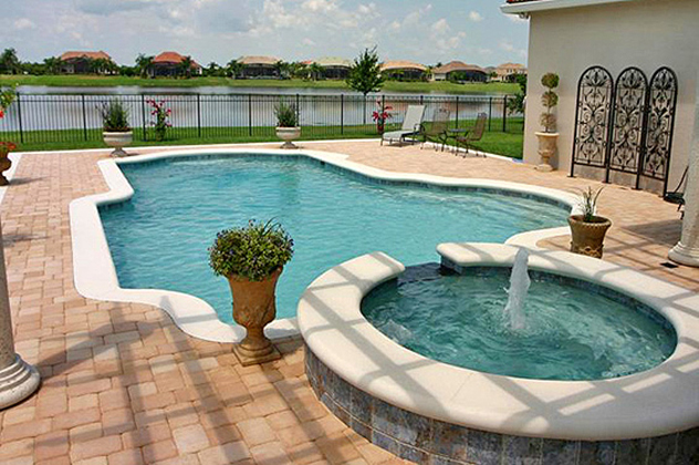 Photo gallery artesian pools central florida 39 s for Pool design orlando florida